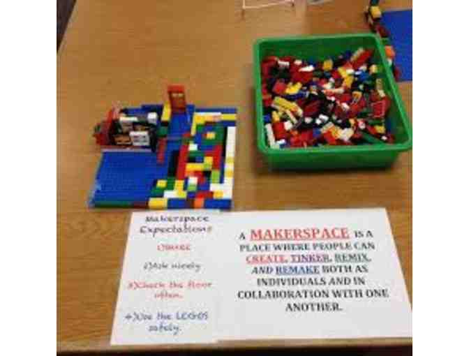 Makerspace Party at JQES with Teachers Ms. Blake and Ms. Boulogne!