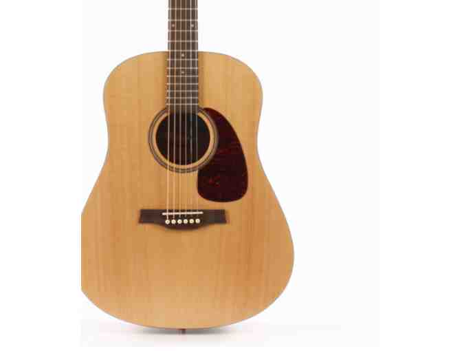 Acoustic Guitar with Hard Case, Seagull The Original S6