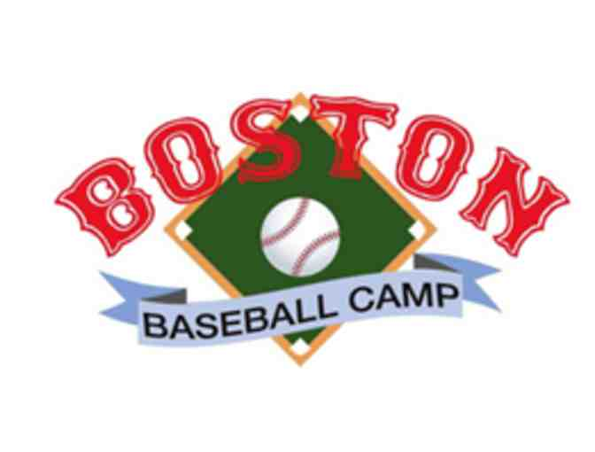 Boston Baseball Camp w/ Vice Principal McCarthy