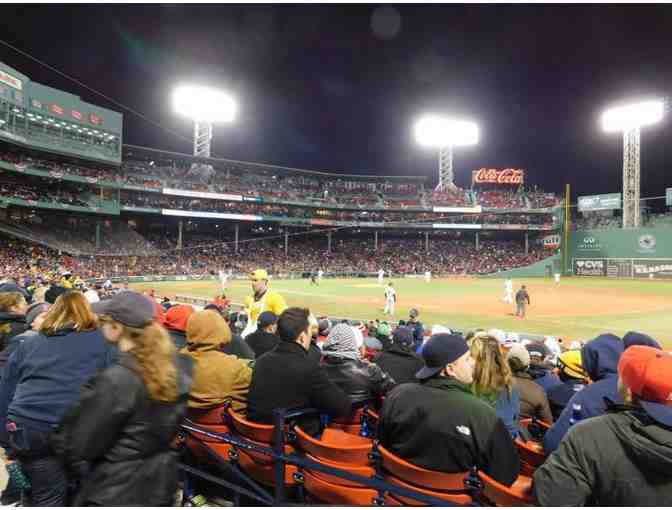 2 Tix Red Sox vs. Athletics 4/29/19, 7:10pm Loge Box 102 - Photo 1