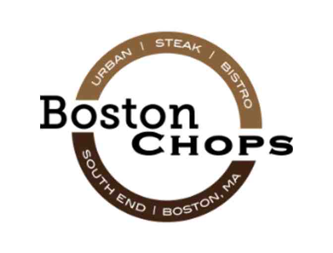 $100 Gift Certificate to Boston Chops