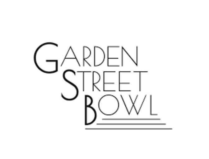 $100 Gift Certificate to Garden Street Bowl