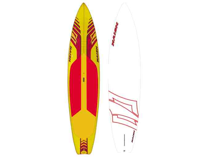 Paddleboard-Naish Quest 12'0 Stand Up with Paddle and Belt Pack Life Jacket