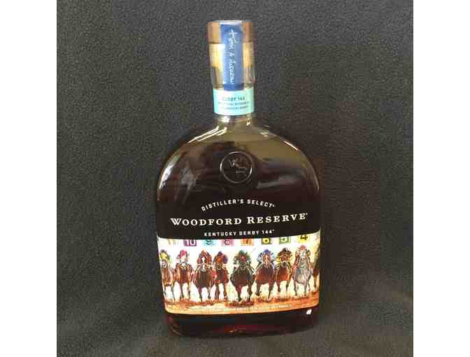 Woodford Reserve Kentucky Straight Bourbon in Kentucky Derby Commemorative Bottle