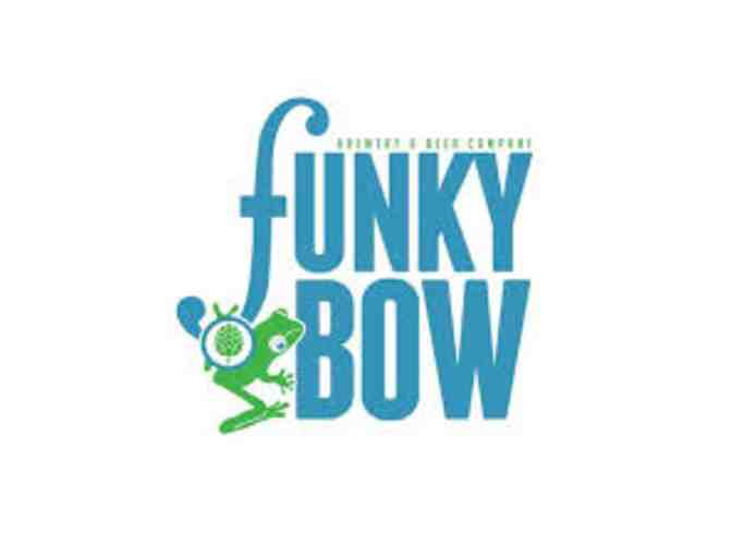 $100 toward Party for Ten at Funky Bow Brewery & Beer Company