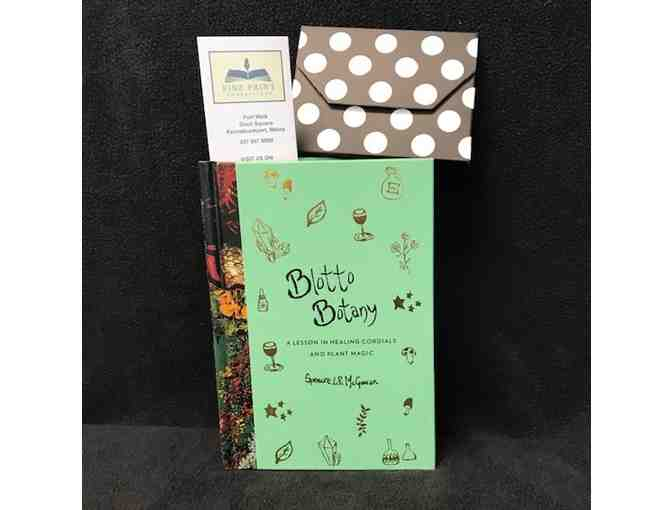 BLOTTO BOTANY BOOK AND $20 GIFT CERTIFICATE