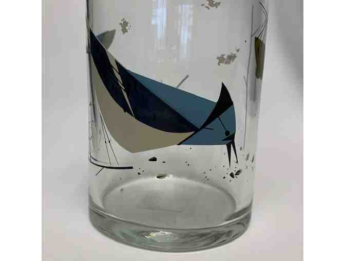 Blue Jay Glass Decanter by Oldham & Harper