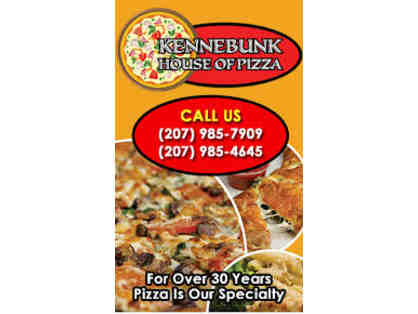 $15 Gift Card at Kennebunk House of Pizza