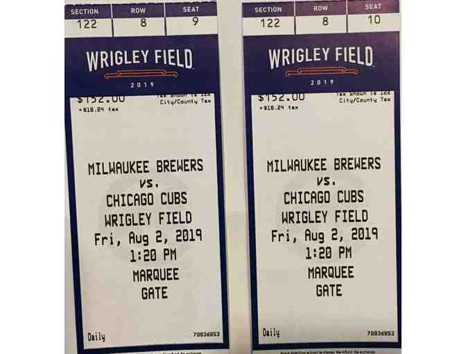 Milwaukee Brewers vs Chicago Cubs- Tickets You Can't Pass UP