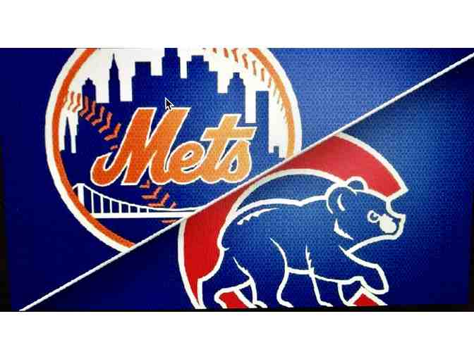 Fathers Day Gift - New York Mets vs Chicago Cubs