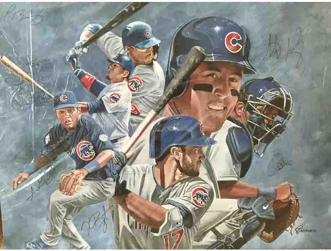 Chicago Cubs Young Guns Giclee