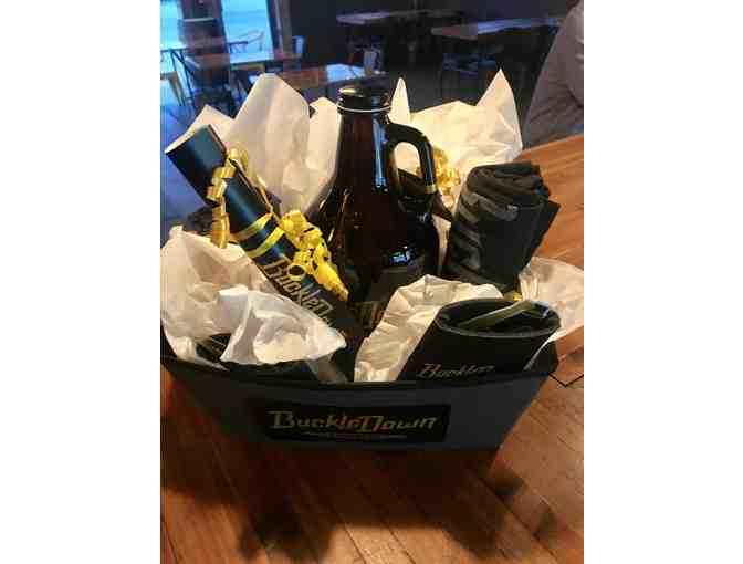 BUCKLEDOWN BREWING GOODIE BASKET & TOUR