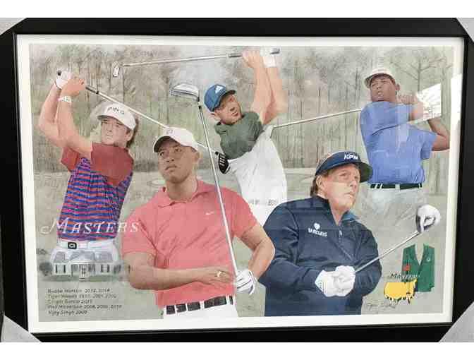 Masters Champs Giclee and Flagg Creek $115 Gift Card