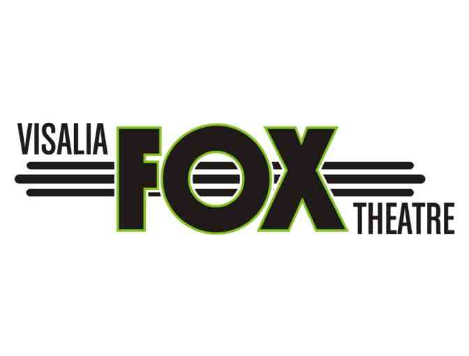 Two tickets to see Jethro Tull at the Visalia Fox