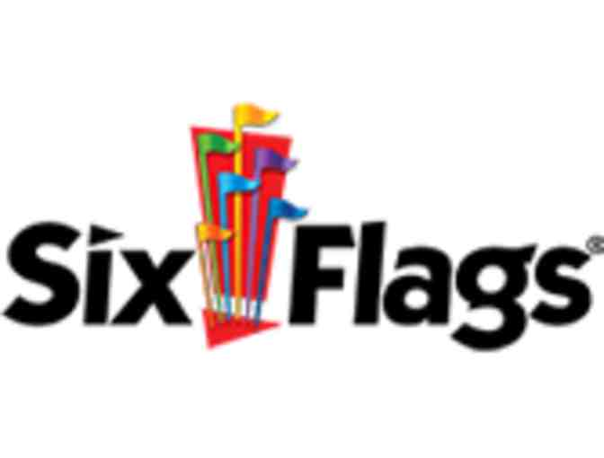 Two tickets to Six Flags Magic Mountain