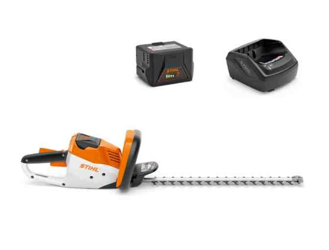 Stihl HSA 56 set (Li-Ion hedge trimmer, battery and charger)