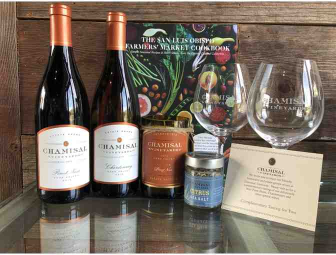 Chamisal wines package