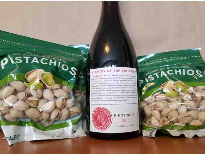 Pistachios and Pinot #1