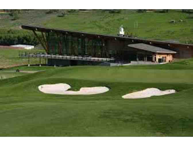 Soldier Hollow or Wasatch Golf Course - 18 Holes of Golf for Four, Cart Included