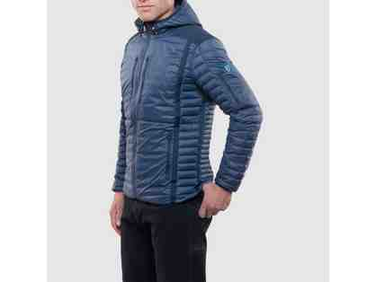 KUHL - Men's Spyfire Hoody Jacket (Pirate Blue Color, Size XL)