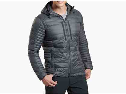 KUHL - Men's Spyfire Hoody Jacket (Carbon Color, Size L)