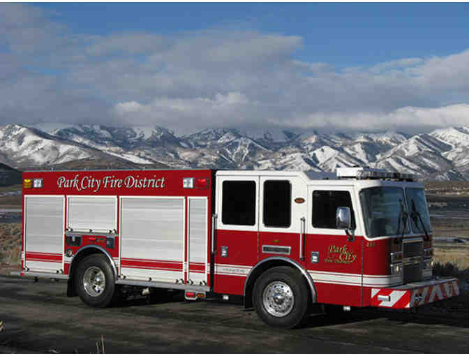 Park City Fire District - Ride to School in a Fire Truck