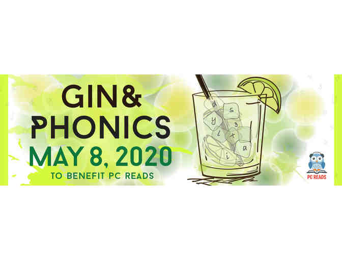 PC READS Fundraiser - Gin & Phonics - Pair of Tickets (2)