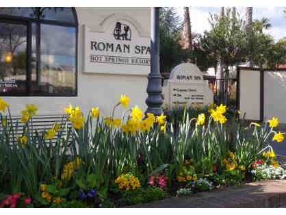 3 Nights for 2, Superiore Room & More, Roman Spa Hot Springs Resort, Calistoga