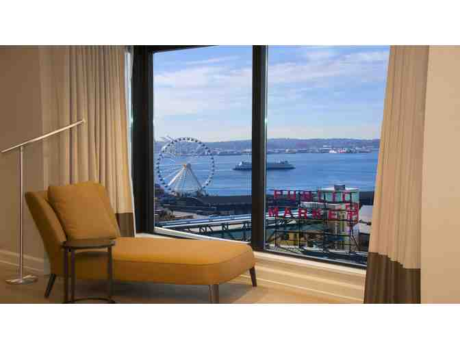 Two Nights in a Deluxe Water View Suite for Two, Inn at the Market, Seattle