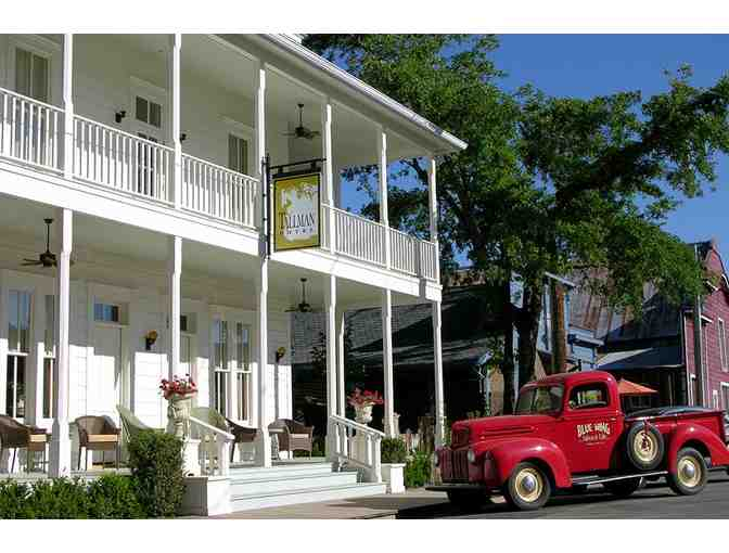 2 Night Stay for 2, Dining & More, Tallman Hotel & Blue Wing Saloon Restaurant, Upper Lake