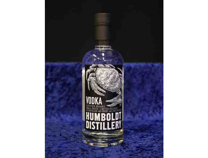 Case Organic Vodka, Humboldt Distillery, Fortuna