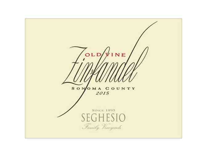 6 Liter Old Vine Zinfandel & Chef's Table Experience for 4, Seghesio, Healdsburg