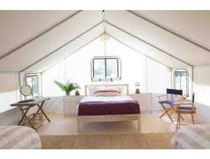 Two Nights Mid-Week for Two in a Classic Tent, Mendocino Grove, Mendocino