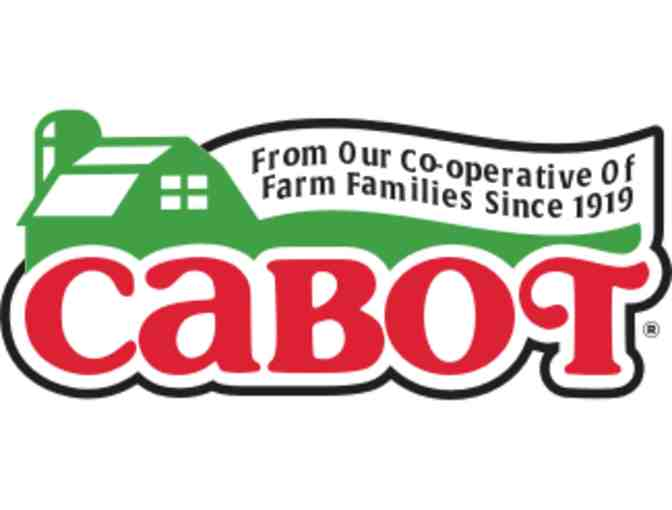 One Year Supply of Cabot Cheese, Cabot Creamery Cooperative, VT