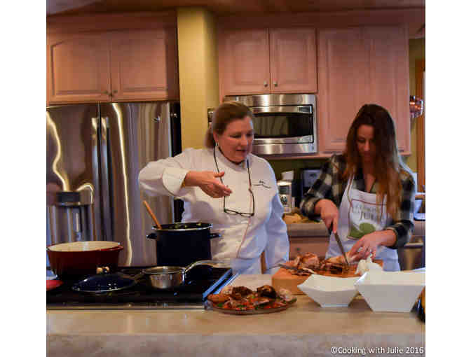 Savor, Shop, Cook and Feast for Two, Cooking with Julie, Napa