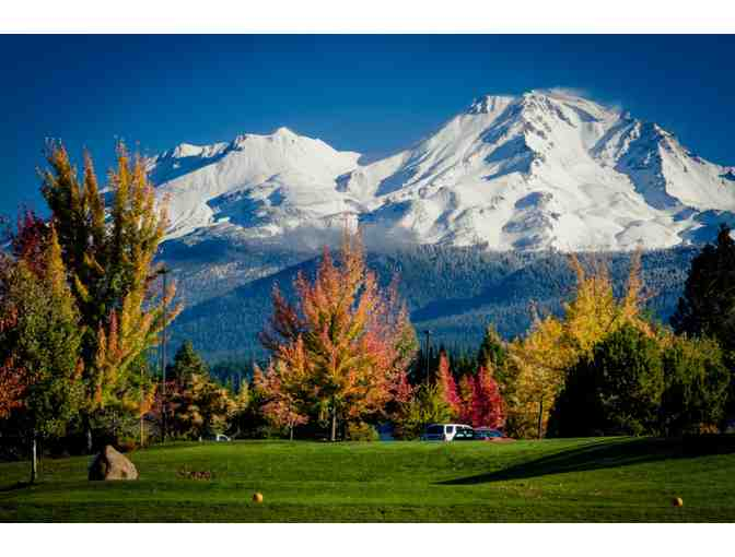 Two Nights One Bedroom Chalet with Golf for Two, Mount Shasta Resort, Mt. Shasta