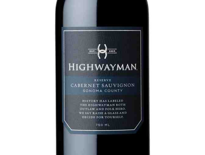 Case 2014 Highwayman Reserve Cabernet Sauvignon, Highway 12 Vineyards & Winery, Sonoma