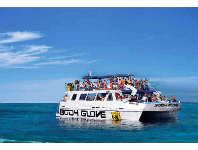 Deluxe Snorkel & Dolphin Watch Cruise for Two, Body Glove Cruises, Kailua Kona HI
