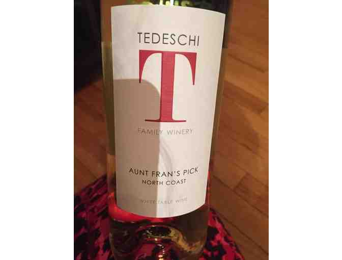 Case 2016 Aunt Fran's Pick North Coast White Table Wine, Tedeschi Family Winery, Calistoga