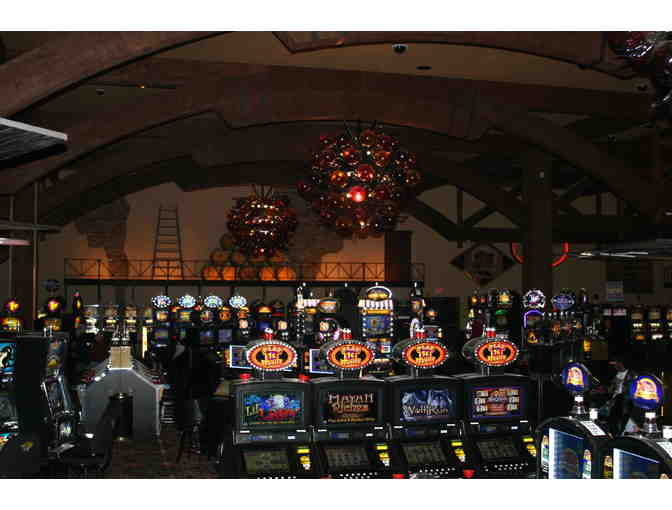 One Night for Two, Dining & 'Free-Play', Twin Pine Casino & Hotel, MIddleton