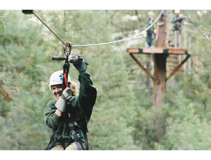 Weekday Forest Flight for Two, Sonoma Canopy Tours, Occidental
