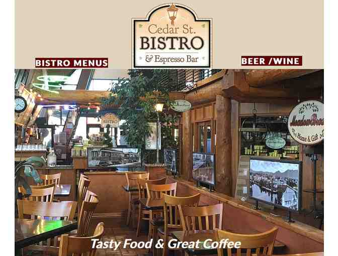 $25 gift certificate to Cedar St Bistro - Photo 1