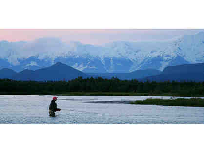 5 night Alaskan Salmon Fishing Trip at McDougall Lodge