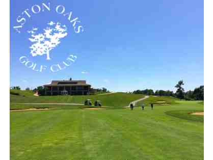 Aston Oaks Golf Course - One (1) Gift Certificate for a Round of 18 Holes w/ Cart