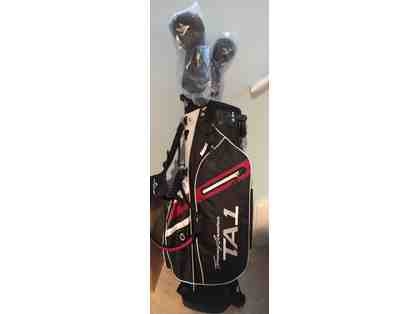 Tommy Armour TA1 Golf Bag, TA1 Driver and TA1 3 Wood