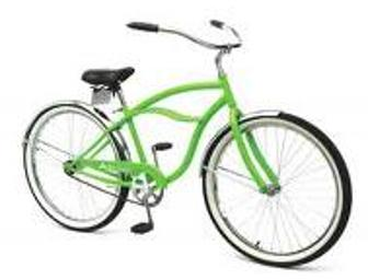 Green Beach Cruiser Bike from Regions Bank
