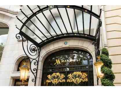 PARIS MARRIOTT CHAMPS ELYSEES HOTEL - TWO NIGHT STAY