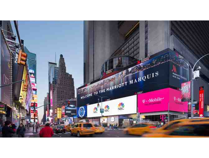 NEW YORK MARRIOTT MARQUIS - TWO NIGHT WEEKEND STAY W/ BREAKFAST FOR TWO