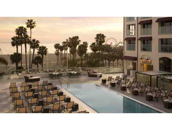 LOEWS SANTA MONICA BEACH - 1 NIGHT STAY WITH OCEANVIEW, BREAKFAST FOR 2, VALET PARKING
