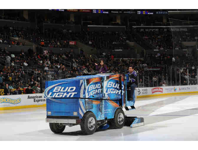 LA KINGS CARE FOUNDATION - PACKAGE INCLUDES (4) TICKETS TO LOWER BOWL SEATS & ZAMBONI RIDE - Photo 4